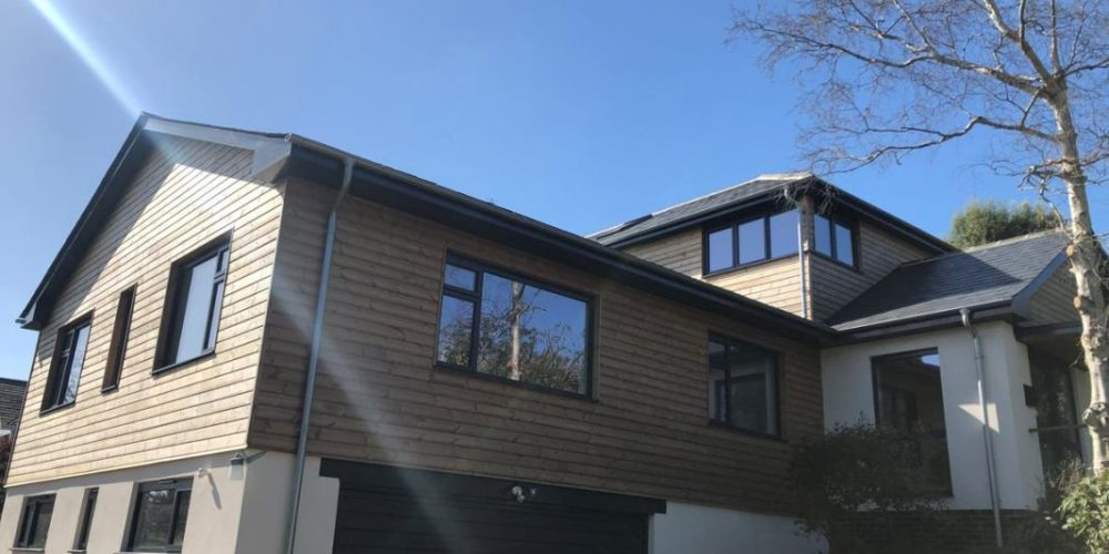 Positive reactions to a residential refurbishment